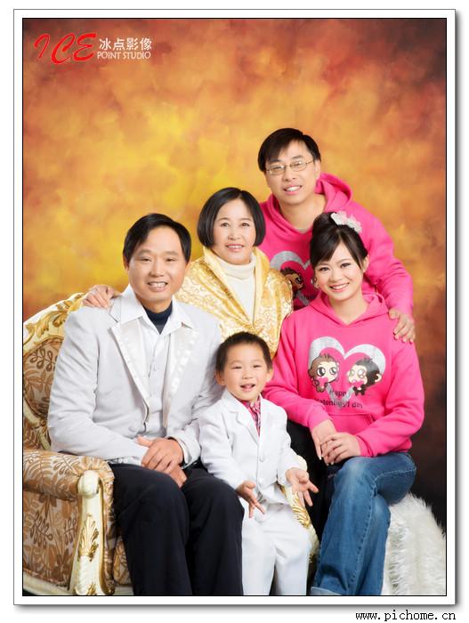 上海全家福摄影